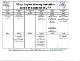 Eagle Events at Wray RD-2
