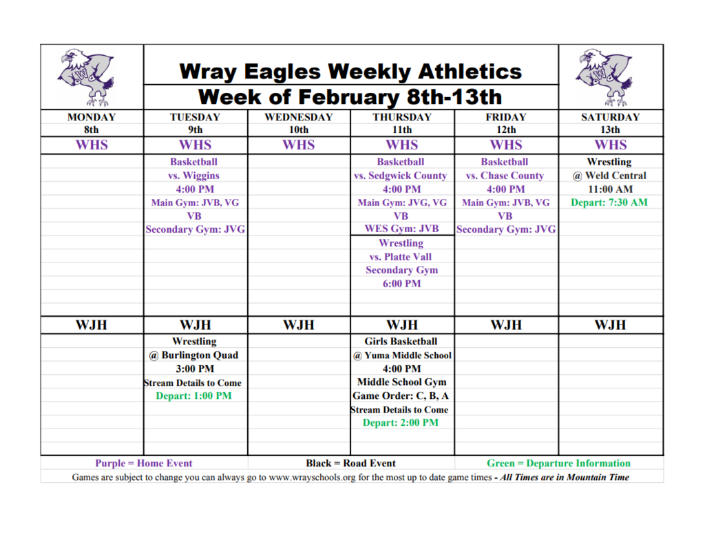 Week of Feb 8-13