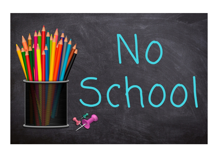 No School clip art
